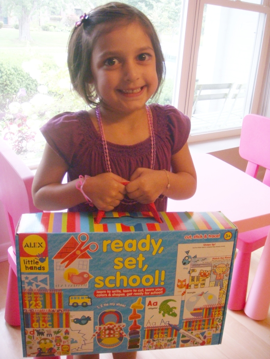 ALEX Toys Ready, Set, School!