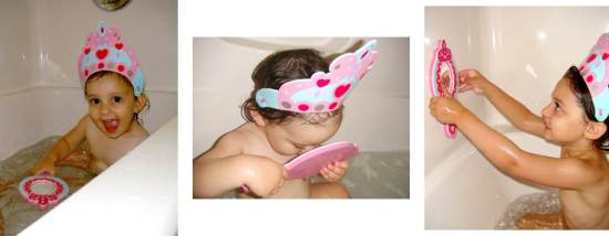 ALEX Princess in the Tub