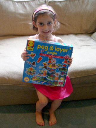 ALEX Toys Peg & Layer Jungle