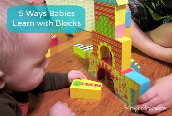 wooden building blocks, motor skills, ALEX Toys, babies, learning, parenting