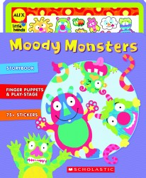 Moody Monster Manor, ALEX, Scholastic, book, crafts, Moody Monsters Storybook