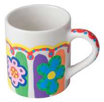 Paint a mug, DIY Gifts, crafts for kids