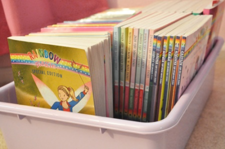 How to organize your home for reading fun