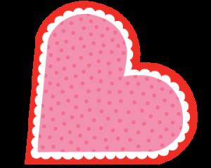 red-heart-frame