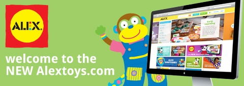 ALEX Toys Launches New Website and 100 New Toys