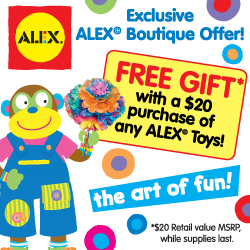 ALEX Spring Free Gift With Purchase Promotion